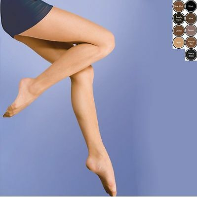 3 Pairs Silky Smooth Knit Ladies Womens Tights M L XL XXL Plus size Hosiery NEW