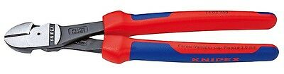 """Knipex 7402250 10"""" High Leverage Diagonal Cutters - Comfort Grip"""