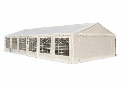 Foxhunter Outdoor Waterproof Tent Marquee Canopy Gazebo White Heavy Duty Event