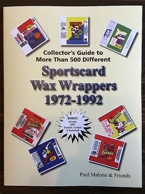New Collector's Guide to More Than 500 Sportscard Wax Wrappers 1972-1992
