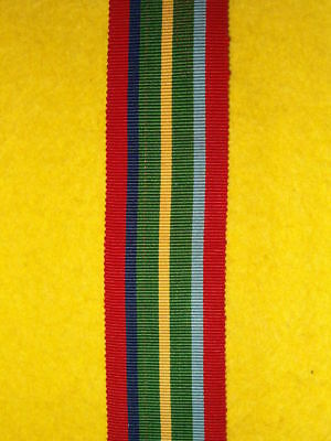 """6"""" of SILK issue WW2 Pacific Star Medal Ribbon"""