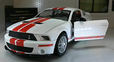 Ford Mustang 2007 GT Coupe Shelby Cobra GT500 1:24 Scale  Model Car 24208