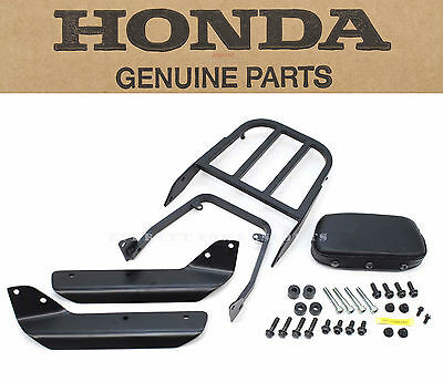 Genuine Honda Rear Rack Carrier With Backrest Hardware CTX700 (See Notes) #J91