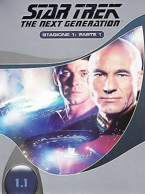 COFANETTO DVD - STAR TREK NEXT GENERATION SERIE STAGIONE 1 PARTE 1 (3 DVD) Nuovo