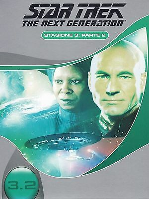 COFANETTO DVD - STAR TREK NEXT GENERATION SERIE STAGIONE 3 PARTE 1 (3 DVD) Nuovo