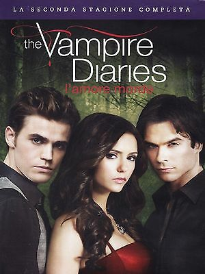 Cofanetto Dvd - The Vampire Diaries Stagione Serie 2 Serie Tv (5 Dvd)
