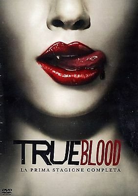 COFANETTO DVD - TRUE BLOOD SERIE STAGIONE 1 SERIE TV (5 DVD) - Nuovo!!