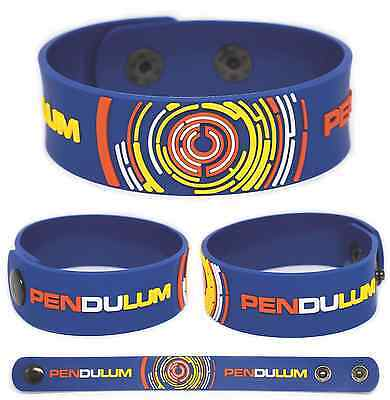 PENDULUM Rubber Bracelet Wristband Immersion In Silico Hold Your Colour