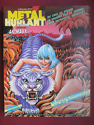 METAL HURLANT 81 BIS SPECIAL ANIMAUX MARGERIN GILLON Décembre 1982  TBE