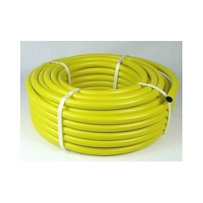 Garden Hose Pipe Watering 30m Yellow Work With Hozelock Fittings