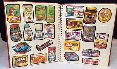 Huge LOT 70's / 80's Wacky Packs STICKERS 275 TOTAL Album Jaws Pac-man Star Wars