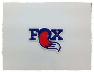FOX RACING Sew Patch On Iron Embroidered Motocross Motorsport Motorcycle Logo