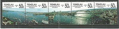 Tokelau 1988 Bi-Cent Australian Settlements Sg,154-158 U/mm Nh Lot 172A