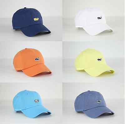 696569b8d0d Vineyard Vines Whale Logo Golf Baseball Cap Hat One Size For Men   Women