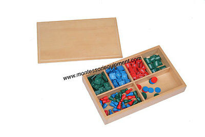 Montessori Material - Stamp Game - New