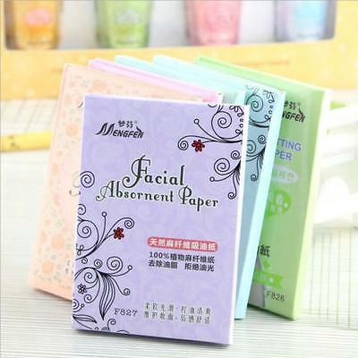 210 Pcs Natural Facial Tissue Oil Absorbing Blotting Papers Makeup Face Cleaner