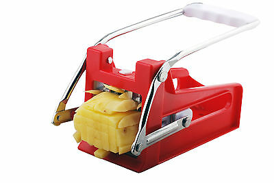 French Fry Cutter Stainless Steel Vegetable Potato Blade Kitchen Slicer Chopper