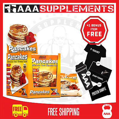 Body Ripped - Protein Power Pancakes (Box Of 10 Single-Serve Sachets)