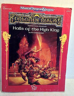 Advanced Dungeons & Dragons 2nd Ed.: Halls of the High King, 9301 (3957)