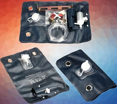Classic car universal windscreen washer bag kit with pump