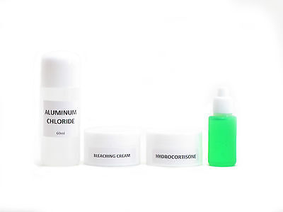 Authentic Underarm Whitening and Peeling Set/Kit Very Effective Flawless White