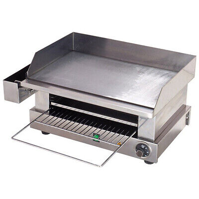 Griddle / Hotplate with Toaster, 5 Grilling Levels, Commercial Kitchen Equipment