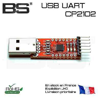 Silicon labs CP2102 + Dupont USB to UART  TTL FT232 RS232 USART Serial ttl