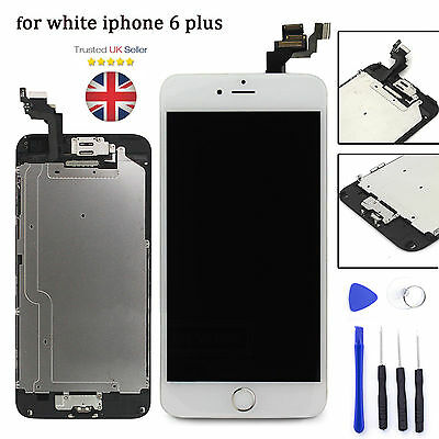 """Replacement For iPhone 6 Plus 5.5"""" LCD Touch Screen & Digitizer Assembly White"""