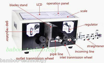 New Computer Wire Peeling Striping Cutting Machine SWT508-SD Best quality mew