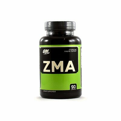 Optimum Nutrition ZMA Strength Recovery and Endurance Support (90 Capsules)