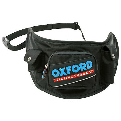 New Oxford Motorcycle Water Resistant Helmet Visor Holster Accessory Belt Bag