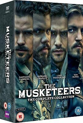 The Musketeers: The Complete Collection (Box Set) [DVD]