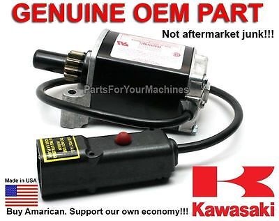 Electric Starter, 110V Dc, Genuine Kawasaki, #211637030, Floor Buffers