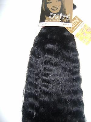 100% Human Hair Tangle Free Outre Super Wave Wet & Wavy Bulk Braiding;Gold;18""
