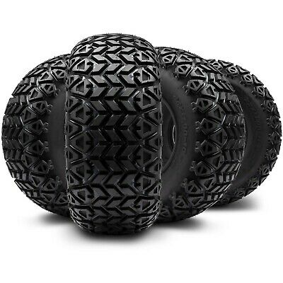 (4) Arisun 22x11-10 DOT All-Terrain Tire for Golf Carts & ATV's (4 Ply Rating)