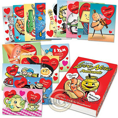 Love Note Postcards Book 30 Thirty Post Cards Card Note Love Notes Valentines