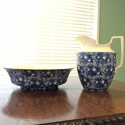 Antique Jug and Basin Set