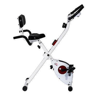 HOMCOM Magnetic Exercise Bike Cycling Trainer Fitness Cardio Fitness Workout