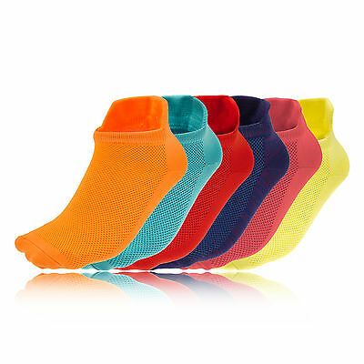 Higher State Freedom Lite Womens Sports Running Work Out Anklet Socks 6 Pack