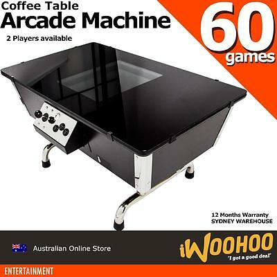 Arcade Machine Coffee Lounge Table Style 18inch screen Classic 80s 90s Games