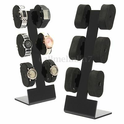uhrenst nder armbandhalter st nder f r uhren schmuck aufbewahrung pr sentation eur 17 95. Black Bedroom Furniture Sets. Home Design Ideas