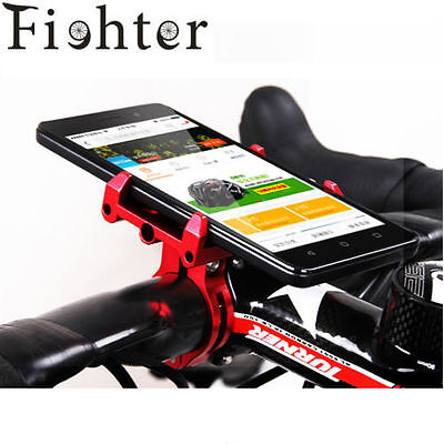 solid Metal Bike Bicycle/Motorcycle Handle Phone Mount Holder For CellPhone GPS