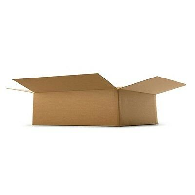 Cardboard Postage Boxes Single Wall Postal Mailing Small Parcel Box 12 x 9 x 2""