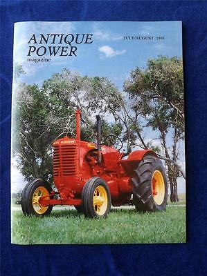 1938 Massey Harris Pacemaker Antique Power Tractor Collector Magazine July 1993