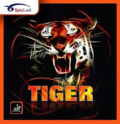 Spinlord Tiger Grippy Table Tennis Rubber Official Uk