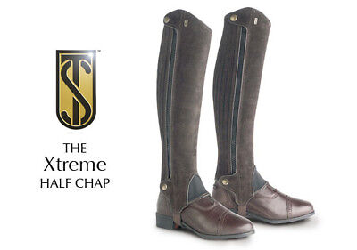 Tredstep Xtreme Suede Riding Half Chap - Brown