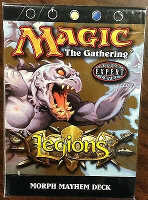 MTG Magic Legions Morph Mayhem Theme Deck New Pre Con White Blue Onslaught Block