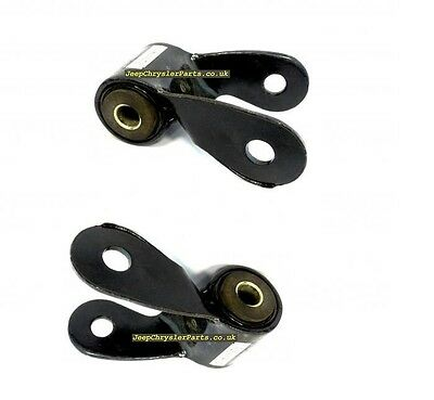 2 X Shackle For Rear Leaf Spring Jeep Cherokee Xj 84-01