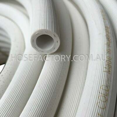 "30M Hot Wash Rubber Water Hose 12MM I.D 1/2"" Australian Made NON-KINK"