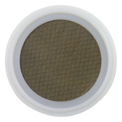 "PTFE Sanitary Tri-Clamp Screen Gasket, White - 4"" w/ 325 Mesh & 10 Mesh Backer"